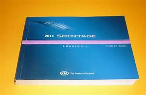 2014 Kia Sportage Owners Manual Guide 14 Lx Ex Sx Fwd Awd