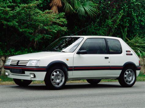 peugeot car one peugeot 205 gti 1984 1985 1986 1987 1988 1989 1990