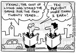 the cost of living cartoons - Humor from Jantoo Cartoons