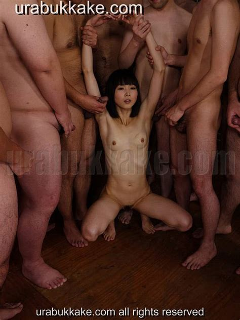 Japanese Meat Urinal Ai is Ready for a GangBang Bukkake ...
