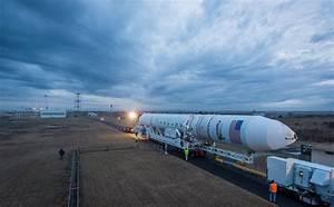 Antares Rocket Rolls Out at NASA's Wallops Flight Facility ...