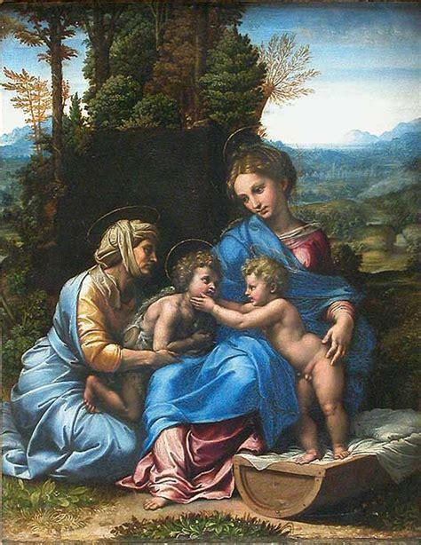 giulio romanos   holy family  africa