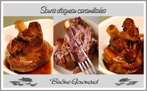comment cuisiner des souris d agneau souris d 39 agneau caramélisées recette