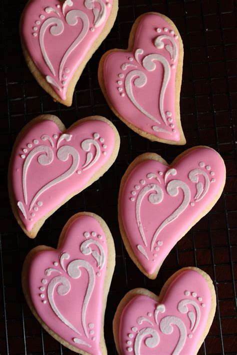 whimsical heart cookies lil  cakes