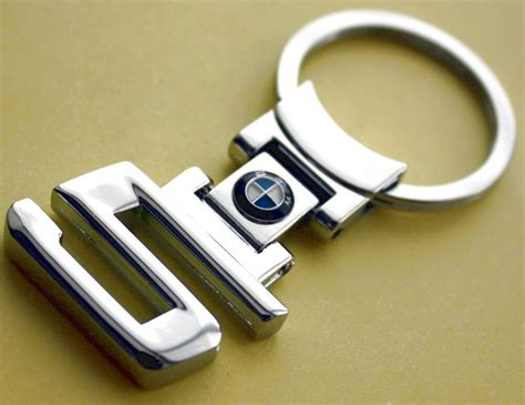 Key Chain Keychain Bmw 520i 530i 545i Chrome New Sport