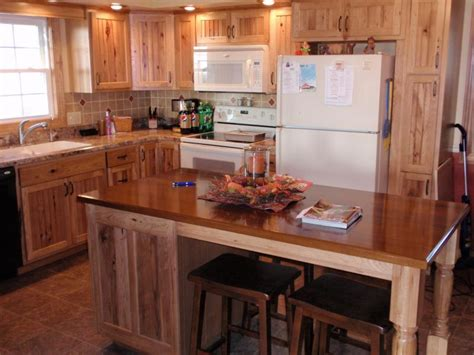 rustic hickory kitchen cabinets rustic hickory kitchen cabinets 4978
