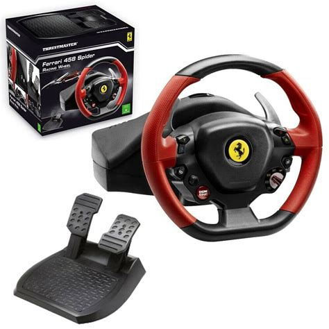 Steering wheel and pedal by thrustmaster for the xbox one gaming console. Thrustmaster Ferrari 458 Spider Racing Wheel | in Horsforth, West Yorkshire | Gumtree