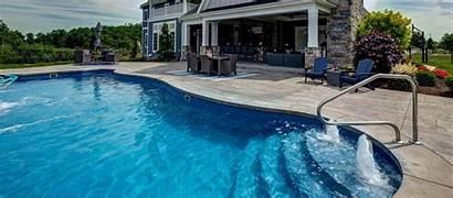 Pool Pools Fiberglass Latham Swimming Install Spa