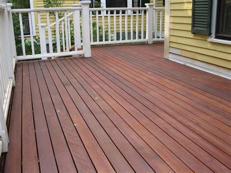 rebuilding  mahogany deck