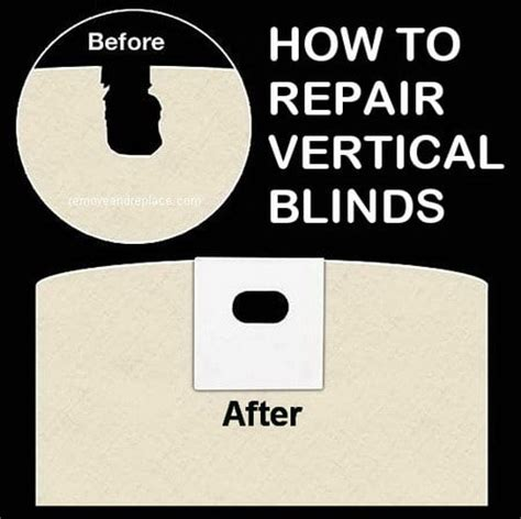 vertical blinds repair how to fix vertical blinds removeandreplace