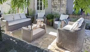 Salon De Jardin En Rotin Leroy Merlin : salon jardin cap gris anthracite salon de jardin leroy ~ Premium-room.com Idées de Décoration