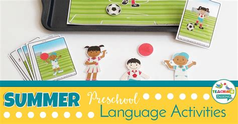 summer preschool language activities for speech therapy 431 | 61 Summer Language Activities FB