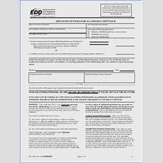 What Is A Personal Allowances Worksheet Mychaumecom