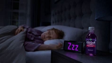 zzzquil vicks pain night interrupted commercial commercials