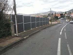 Cloison Jardin Anti Bruit : r duire bruit route mur anti bruit fermisol fermisol ~ Edinachiropracticcenter.com Idées de Décoration