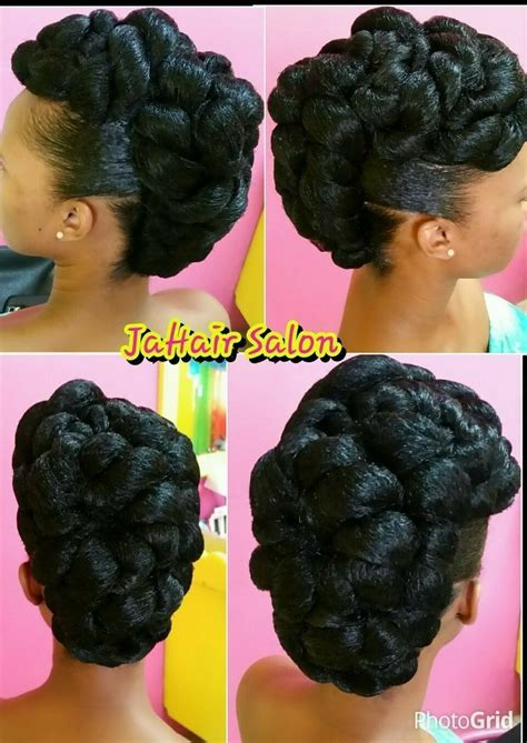wedding updo african hair   hair styles natural