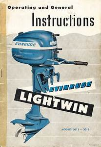 1954 - Evinrude 3hp Outboard Owners Manual  Dl  By Liquid Nirvana