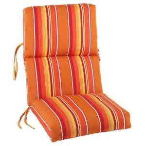 High Back Patio Chair Cushions Home Depot by Sunbrella Dolce Mango Outdoor Dining Chair Cushion