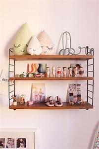 Etagere String Occasion : petit tour dans sa chambre blueberry home ~ Teatrodelosmanantiales.com Idées de Décoration