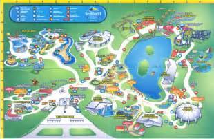 Theme Amusement Park Map