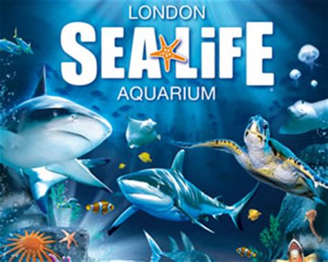billet aquarium de londen sea mbd tickets