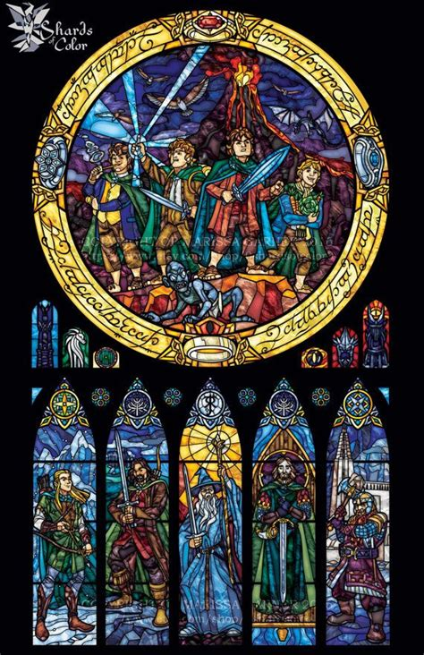 full size  fellowship   ring stained glass