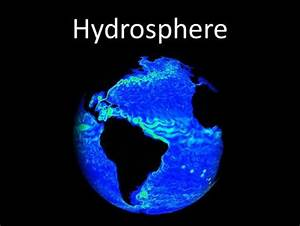The Structure of Hydrosphere - ppt video online download