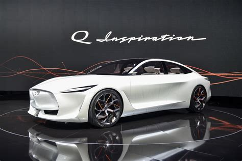 2020 Infiniti Electric by Infiniti Q Inspiration Concept Debuts New Look Not Much Else