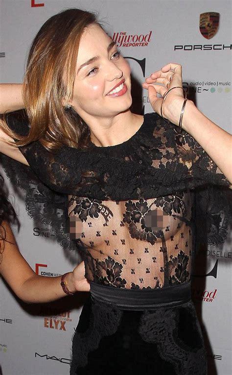 Nip Slip from Miranda Kerr's Sexy Cleavage Pics | E! News