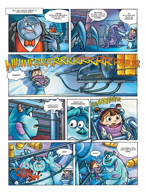 Read online Monsters, Inc. comic - Issue # Full