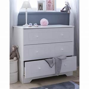 commode blanche pour bebe With chambre bébé design avec commande fleurs internet