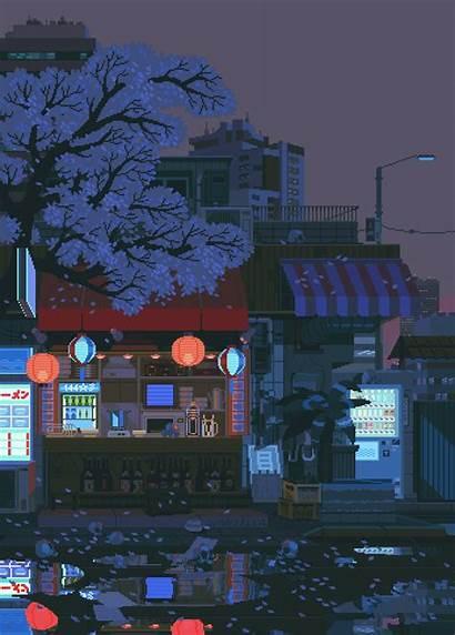 Pixel Waneella Background Aesthetic Anime Vaporwave Backgrounds