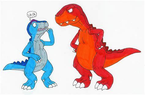 t rex vore allosaurus 01 by mcsaurus on deviantart