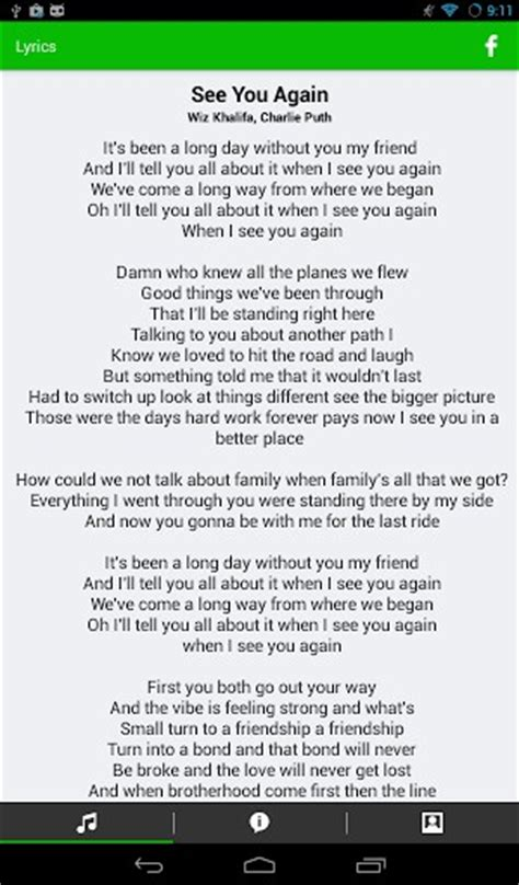 Check The Resume Lyrics by When Can I See You Again For Free Motich