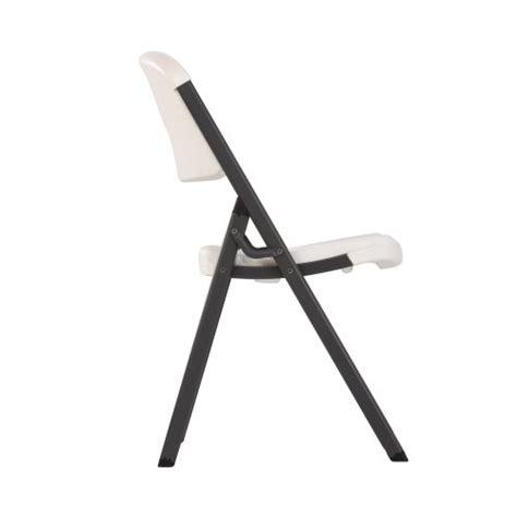 lifetime 42804 folding chair white granite pack of 4