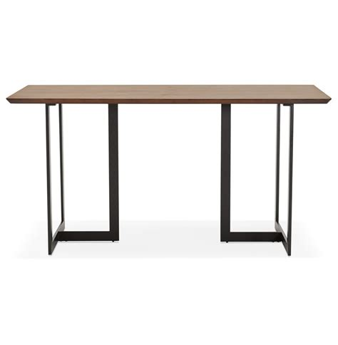 table bureau design table design titus en bois de noyer bureau moderne 150x70 cm