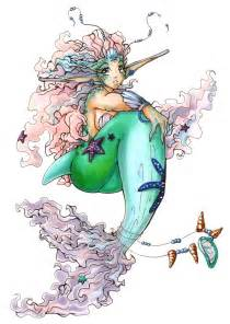 Anime Mermaid Princess Drawings