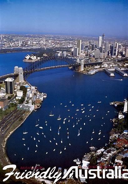 Australia Tourism Archives Ads Sydney 1970s Harbour