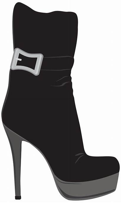 Boots Clipart Boot Female Transparent Webstockreview Clipartpng