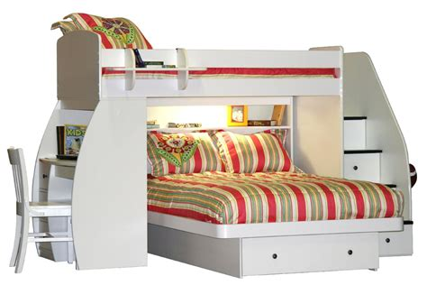 queen size bunk bed with desk furniture l shaped full size bunk bed with desk and