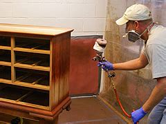 refinishing furniture how to apply wood stain and