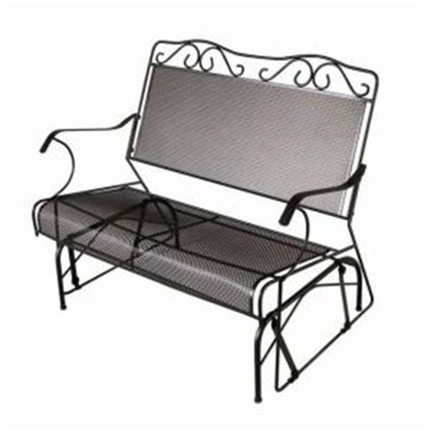 plantation wrought iron patio furniture home depot plantation patterns glider bench gliders