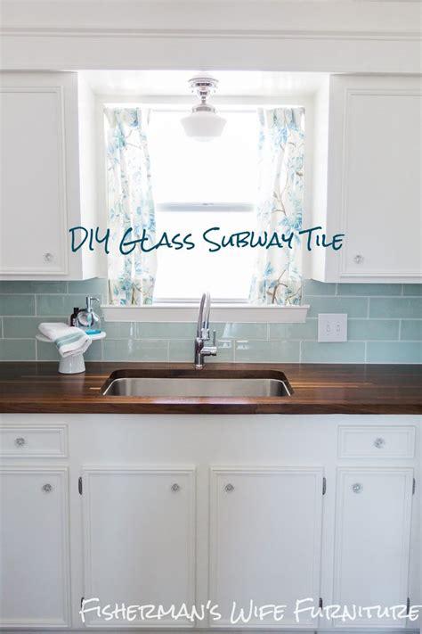 best glass tile backsplash ideas on pinterest glass subway
