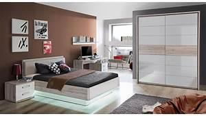 Jugendzimmer Weiß Hochglanz : bett rondino jugendzimmerbett in sandeiche und wei hochglanz 140x200 ~ Orissabook.com Haus und Dekorationen