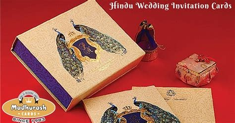 tips  selecting  ideal hindu wedding invitation