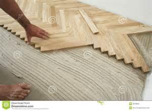 craftsman floor plan parquet floor and carpenter stock photo image 3978800