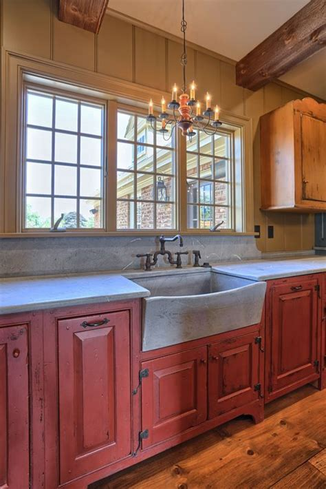 classic colonial homes interior farmhouse sink primitive kitchen cabinets kitchen renovation
