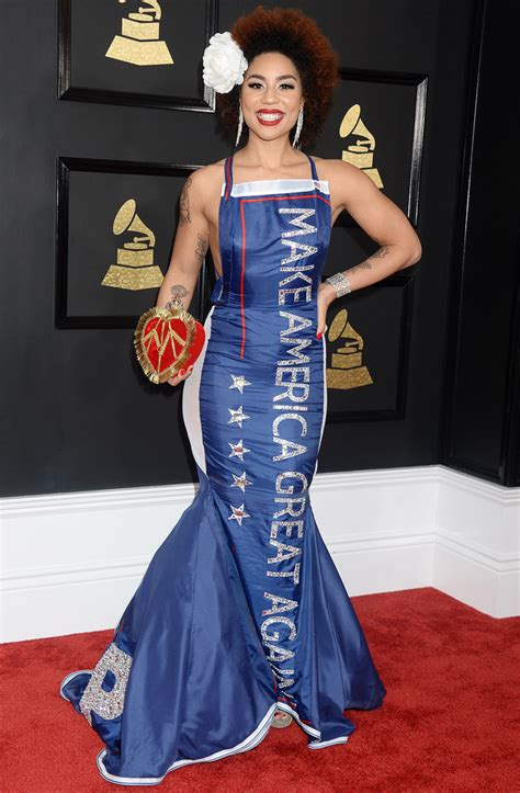 Joy Villa 2018 Grammy Dress