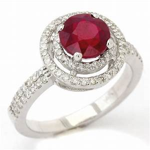 200ctw round cut red ruby diamonds double halo With red diamond wedding ring
