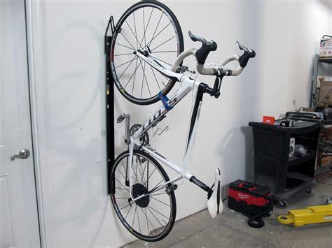wall mounted bike rack saris bike trac vertical 1 bike storage rack wall mount